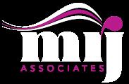 MRJ logo white